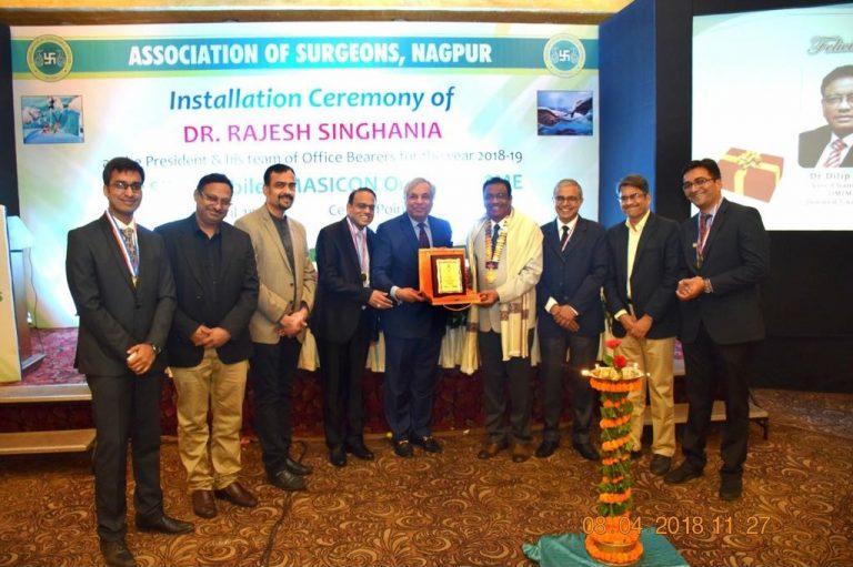 ASI President Felicitated at Nagpur City Branch