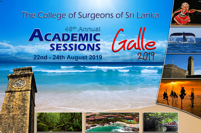 The College Of Surgeons Of Sri Lanka Annual Academic Sessions 2019
