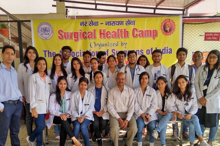 Social Surgical Camp at Dharmawala