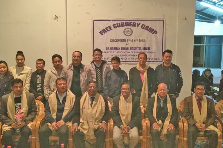 Fee Surgery Camp By North East Chapter of ASI